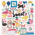 Crate - Sweet Story - Chipboard Stickers